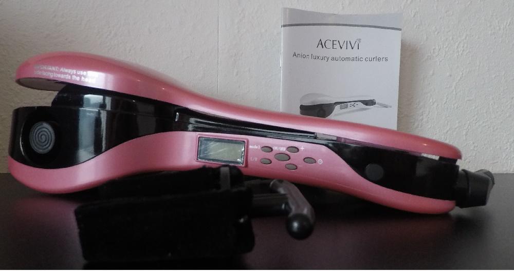 Acevivi Lockenstab mit Anleitung und Zubehör